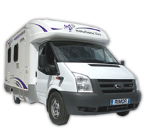 Scout motorhome exterior